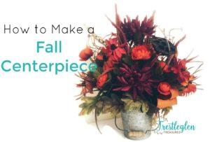 Make Fall Centerpiece