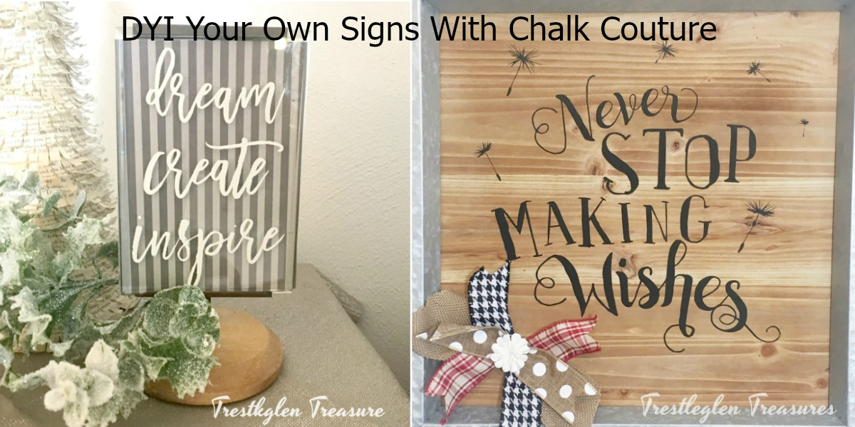 Diy Wood Signs With Chalk Couture Farm Style Wreaths