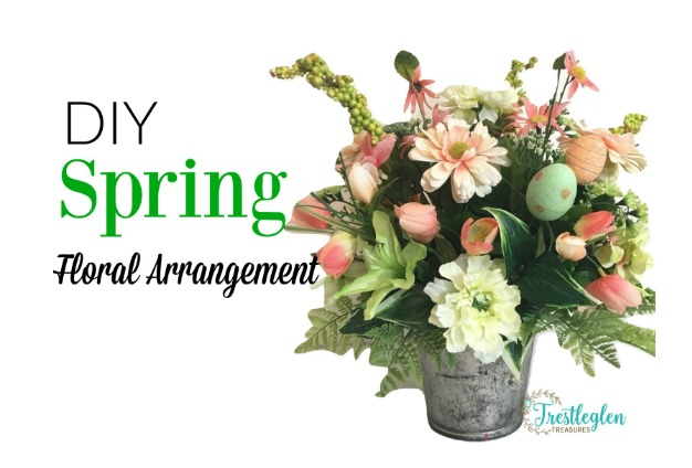 Diy Flower Arrangements For Spring Farm Style Wreaths Book